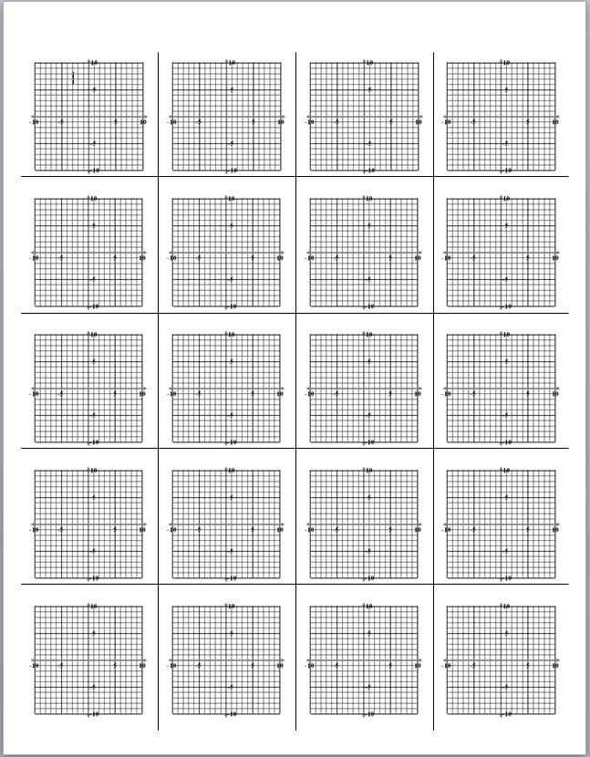 mrclee.com - Printable Graph Paper